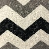 sample image of Rug 130 Infinity Chevron Black